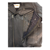 Classic Leather Men's Motorcycle Jacket