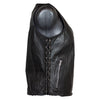 Ladies Light Weight Leather Vest