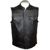 Men's Leather Club Vest