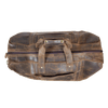 Distressed Leather Large Duffel Bag