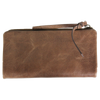 Women's Distressed Leather RFID Wallet