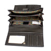 Ladies RIFD Protected Trifold Wallet