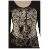 Cross/Angel Laser Cut Top