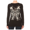 Lace Up V-Neck Angel Wing Top