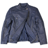 Blue Side Zip Women's Jacket