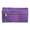 Purple Sugar Skull and Rose Wallet