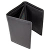 Men's Trifold Flip Up  Leather Wallet