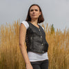 Women's Leather Gunslinger Vest