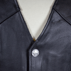 Men's Tall Buffalo Leather Vest