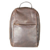 Brown Oil Pull-up Backpack
