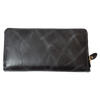 Womens Zip Continental Leather Wallet