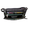 RFID Leather Organizer Cross Body Bag