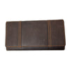 Women's Distressed Trifold Wallet