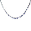 Stainless Steel Twist Chain Necklace