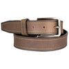Men's Contrast Stitch Leather Belt