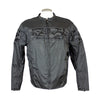 Skull pattern armored Jacket