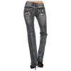 Women's Skeleton Wing Bootcut Jeans