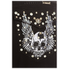 Skeleton Wing Black Jeans