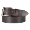 Plain Brown Men's Leather Belt