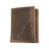 Distressed Tri-Fold Wallet