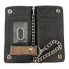 Chrome Plated Trucker Wallet