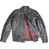 Men's Leather Bomber Jacket