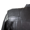 Women's Basket Weave Accent Leather Jacket