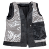Women's Studded Leather Vest