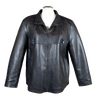 Women's Plus Size Leather Jacket