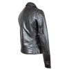 Women's Biker Style Leather Jacket