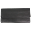 Women's Wing Flap Trifold Leather Wallet