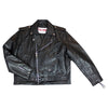 Men's Classic Leather Motorcycle Jacket