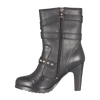 "Women's 9.5"" High Heel Motorcycle Boots"