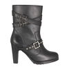 "10"" Triple Buckle Women's Biker Boot"