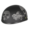 Skull Black Low Profile Helmet