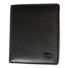 Men's Flip Up Wing Bifold Leather Wallet