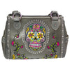 2 Handled Bag Sugar Skull