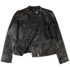Aria Side Zip Leather Jacket