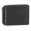 Bill Clip Bi Fold Leather Wallet