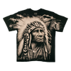 Indigenous Chief Men's Black T-shirt
