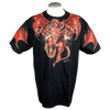 Men's Red Dragon Graphic T-shirt