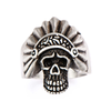 Men's Apache Skull Ring