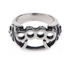 Skull & Knuckle Ring