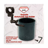 Graphite Motorcycle Cup Holder