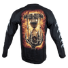 Men's Long Sleeve Reaper Graphic T-shirt
