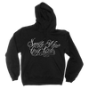 Smile Now Black Pullover Hoodie