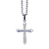Stainless Steel Cross Chain Necklace