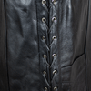 Men's Lace Side Leather Vest