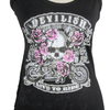Women's Devilish Lace Back Tank Top