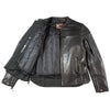 Men's Maverick Leather Motorcycle Jacket